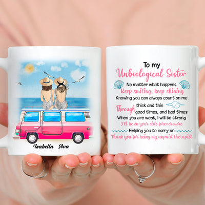 My unpaid therapist - Personalized custom mug - Gift For Best Friends