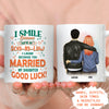 You Married My Daughter - Personalized Custom Mug - Gifts For Son-in-law