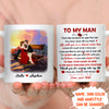 Dream Come True - Personalized Custom Coffee Mug - Husband Wife Gifts