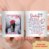 You're My Missing Piece - Personalized Custom Coffee Mug - Gift For Husbands/Wives