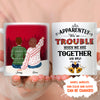 When We Are Together - Personalized Custom Coffee Mug – Christmas Gifts