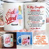 Personalized Custom Coffee Mug - My Love Will Follow You - Gift For Daughter From Mom, Back To School Gift, School 2020 Gift