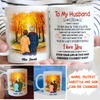 PERSONALIZED CUSTOM MUG - I WISH I COULD TURN BACK THE CLOCK - AUTUMN MUG - GIFTS FOR HUSBAND, ANNIVERSARY GIFTS, COUPLE GIFTS