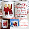 Single Awareness Day - Personalized Custom Coffee Mug - Valentines Gifts To BFF