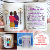 To Wonderful Mother-In-Law - Personalized Custom Coffee Mug - Gifts For Mother-In-Law