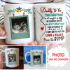 Daddy To Be - Personalized Custom Photo Coffee Mug - Christmas Gifts