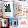 Life Gave Me The Gift Of You - To Daughter-in-law - Personalized Custom Coffee Mug