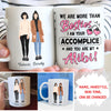 More Than Besties - Personalized Custom Coffee Mug