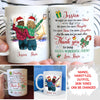 Such A Wonderful Friend - Personalized Custom Coffee Mug - Christmas Gifts For Best Friends