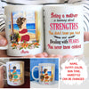 Being A Mother - Personalized Custom Mug - Gifts For Mom To Be