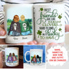 Four-leaf Clover - Personalized Custom Coffee Mugs - Best Friend Mugs