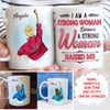 Strong Woman - Personalized Custom Coffee Mug
