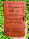 NEPHEW AUNT - BELIEVE IN YOURSELF - SENIOR 2020 - VINTAGE JOURNAL