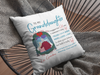 Hold It Tight - Personalized Custom Linen Pillow - Gifts For Granddaughter