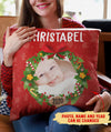 Christmas Pillow - Personalized Custom Photo Pillow - Christmas Gifts