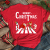 Christmas Abbey Road - Classic Unisex T-shirt - Christmas Shirts
