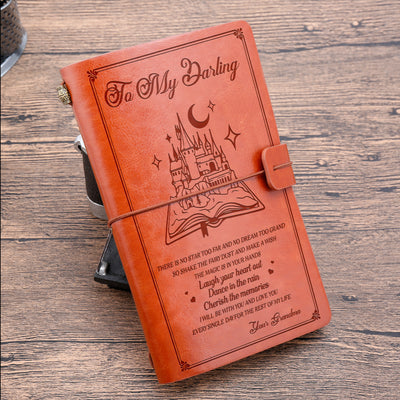 TO MY DARLING - SHAKE THE FAIRY DUST - VINTAGE JOURNAL