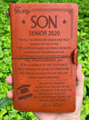 SON DAD - BELIEVE IN YOURSELF - SENIOR 2020 - VINTAGE JOURNAL