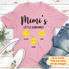 Little Sunshines - Personalized Custom Premium T-shirt - Gifts For Family
