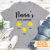 Little Sunshines - Personalized Custom Unisex T-shirt - Gifts for Grandmas