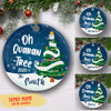 Oh Quarantree - Personalized Ceramic Christmas Ornaments