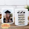 Behind You All Your Memories - Personalized Photo Custom Coffee Mug