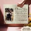 A thousand years - Personalized custom photo canvas