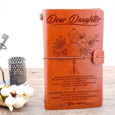 DAUGHTER MOM - MY GORGEOUS - VINTAGE JOURNAL
