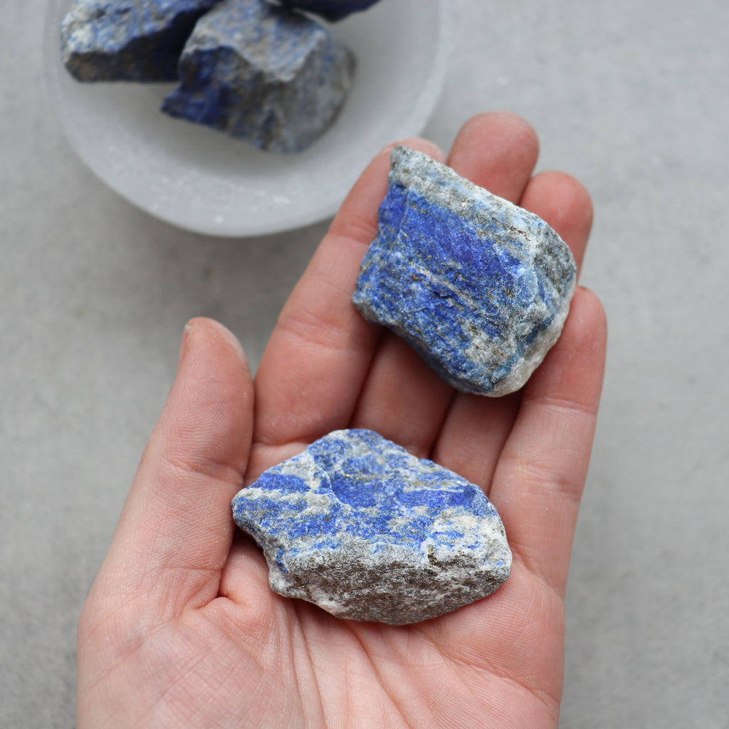 Lapis Lazuli Raw - Pretty Soul Stories Crystals