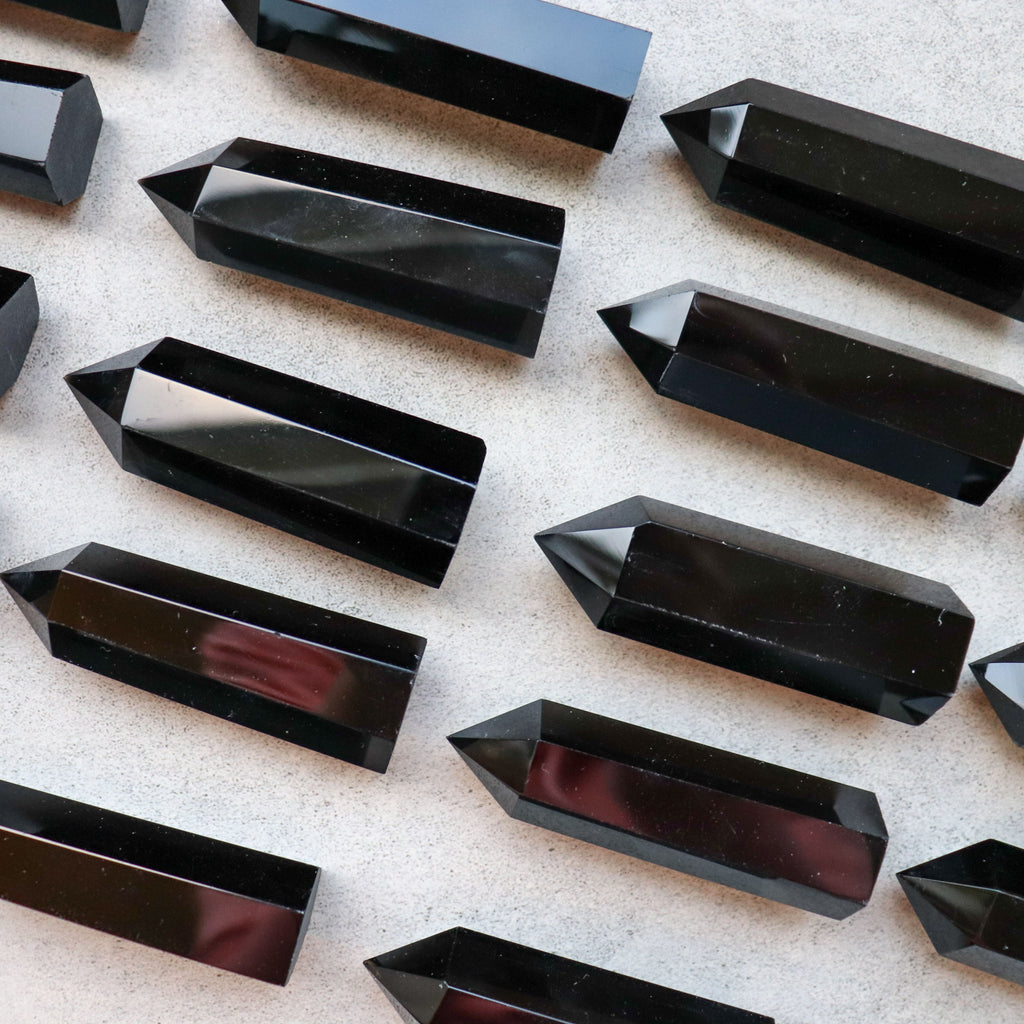 Black Obsidian Point - Pretty Soul Stories Crystals