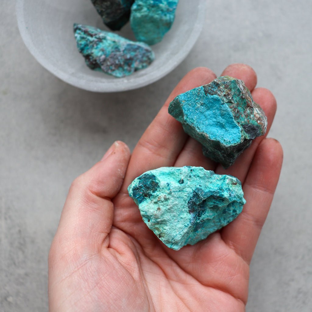 Chrysocolla Raw - Pretty Soul Stories Crystals