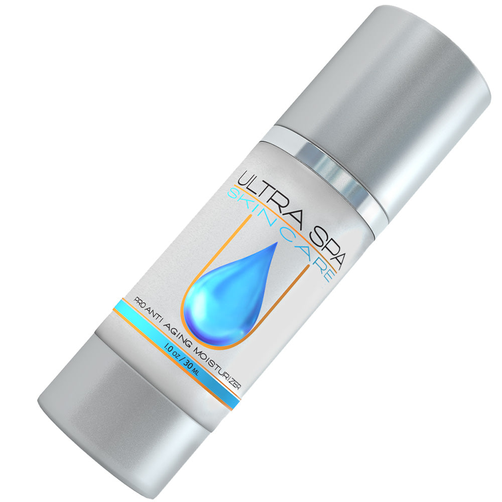 UltraSpa Skincare Hyaluronic Acid Moisturizer - Skin Brightening Serum Moisturizing Eye Cream - 1oz