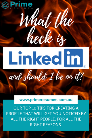 LinkedIn profile writing tips - Prime Resumes Australia