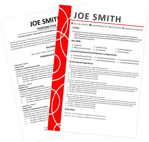 Bold and ATS Compatible resume and cover letter package Australia
