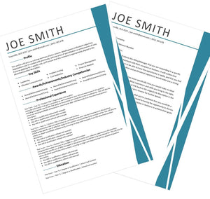 Sharp Resume and Cover Letter Package Australia