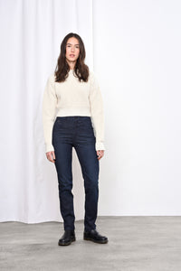 GLORY - Mom Fit, Organic Denim, Raw