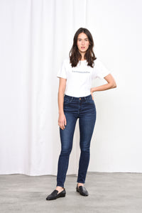 SUN UP - Skinny, Organic Powerstretch Denim, Indigo Basic