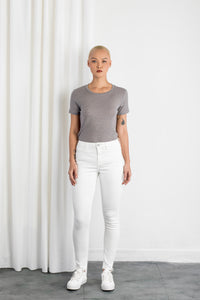 SUN UP - Skinny, Organic Powerstretch Denim
