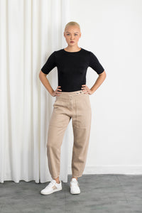 STARDUST - O-Shape, Sustainable Color Denim, Cargo