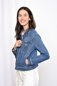 AURORA - Jacket, Organic Soft Denim, FemPower