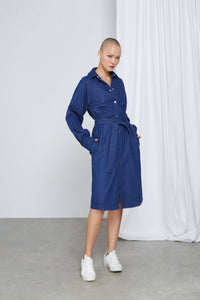 SUNNINESS - Dress, Organic Denim Linen