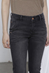 HEAVEN - Boyfriend, Soft Denim, Black