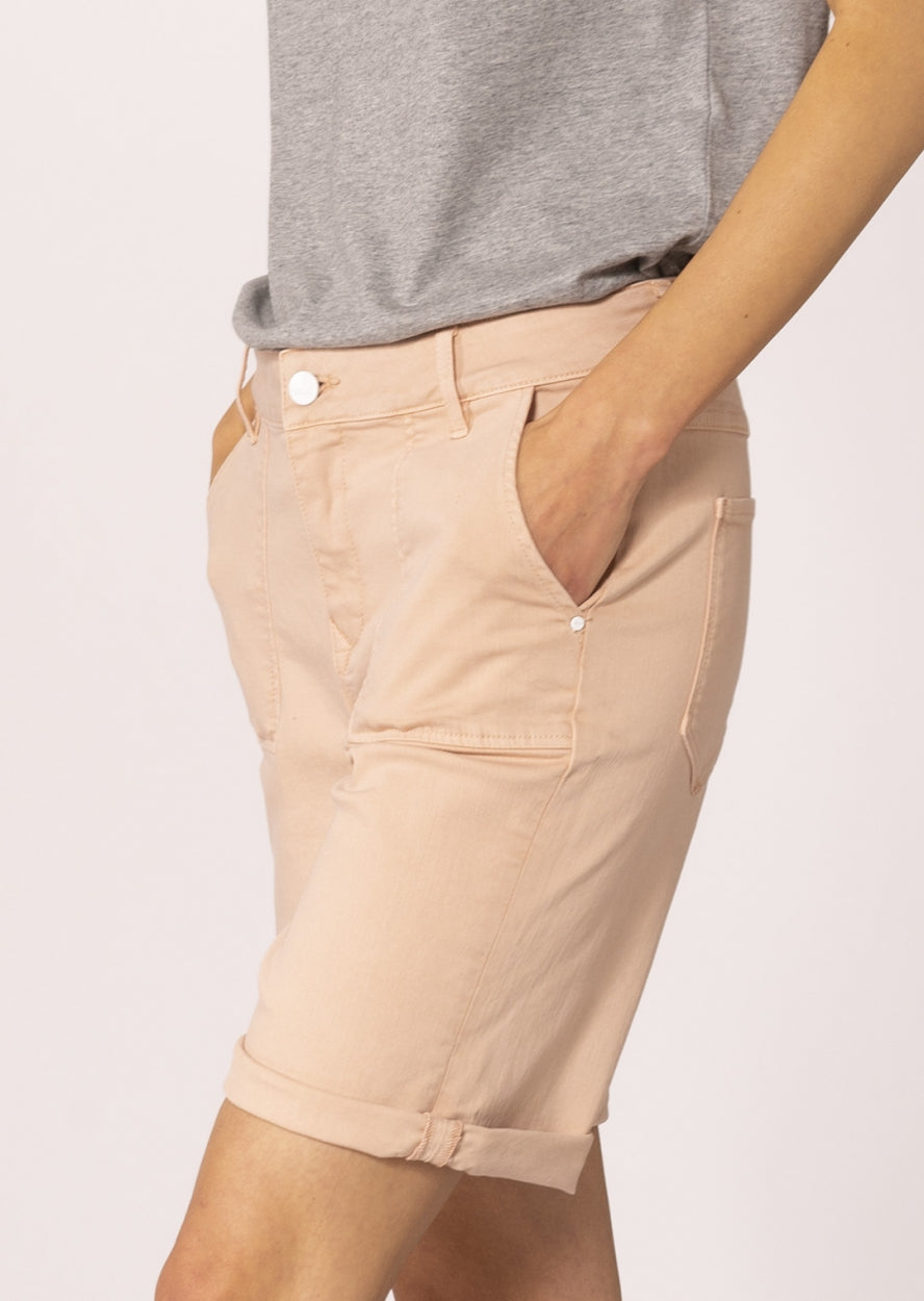 SKY LOOSE - Wide Fit, Summer Short, Apricot
