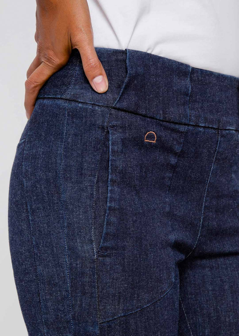 SUN UP - Skinny, Biker, Organic Powerstretch Denim, Raw