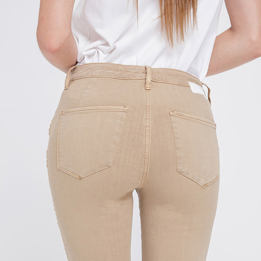 SUN UP - High Waist Skinny, Artisan Braid