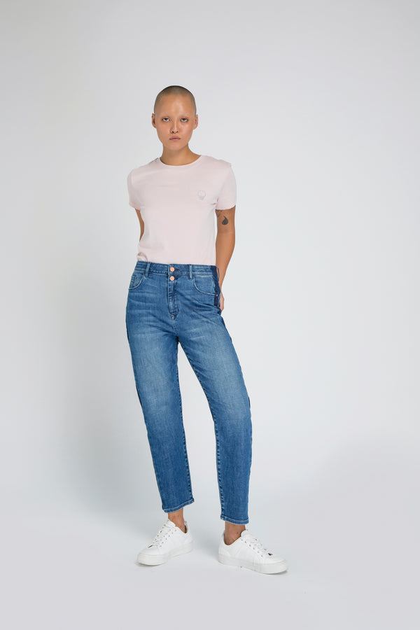 STARDUST - O-Shape, Organic Soft Denim, Gallonstripe