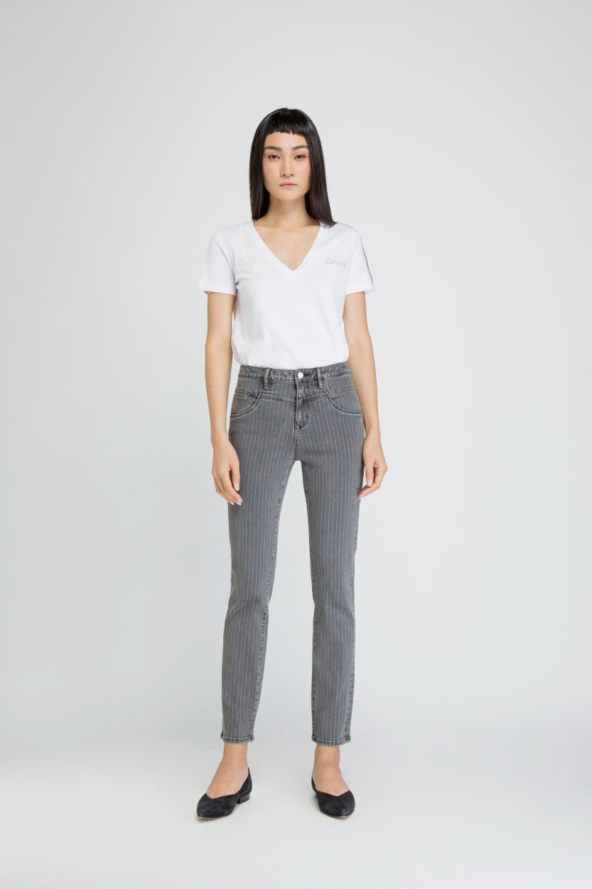 GLORY - Mom Fit, Organic Powerstretch Denim
