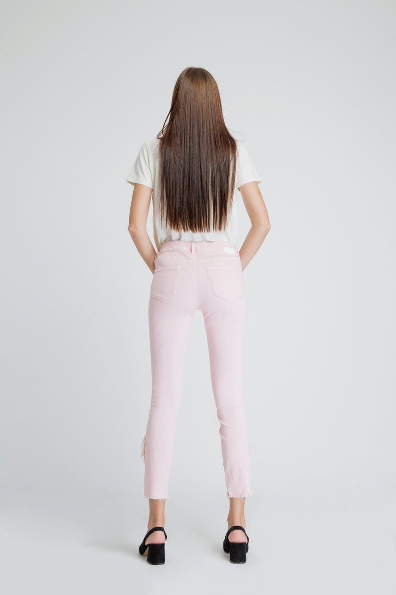 MID SUN - Slim, Sustainable Soft Denim, Rose