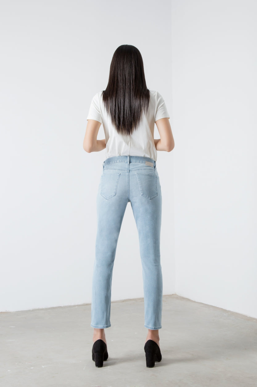HEAVEN - Boyfriend, Biker, Sustainable Soft Denim