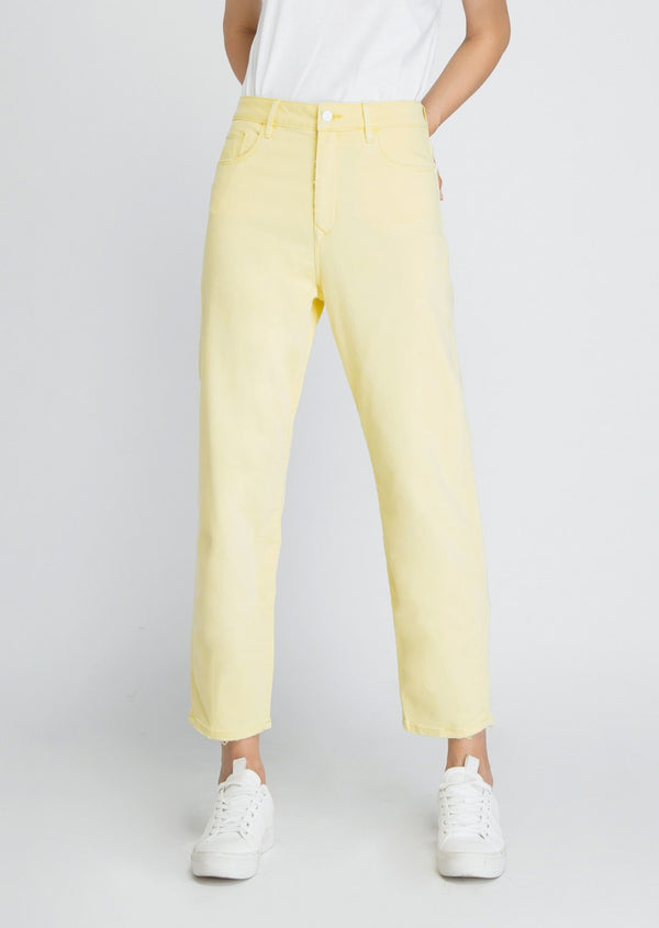 STARDUST - O-Shape, Sustainable Soft Denim, Lemon